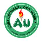 Atiba University Admission Letter