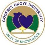 Godfrey Okoye University Admission Letter