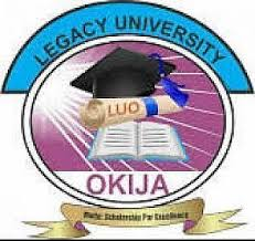 Legacy University Post UTME past questions and answers pdf