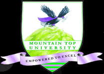 Mountain Top University Pre-Degree Admission Form
