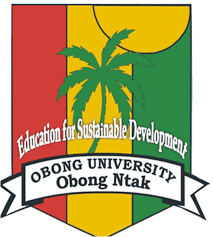 Obong University Pre-Degree Admission Form