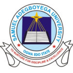 Samuel Adegboyega University admission list