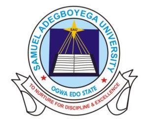 Samuel Adegboyega University Admission portal