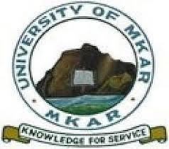 University of Mkar Admission Form