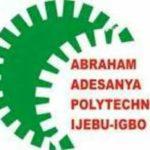 Abraham Adesanya Polytechnic Admission Letter