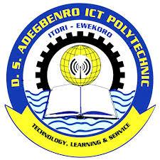 D.S. Adegbenro ICT Poly Post UTME result
