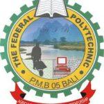 Federal Polytechnic Bali admission list