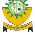 Gboko Polytechnic admission list
