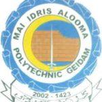 Mai-Idris Alooma Polytechnic Admission Letter