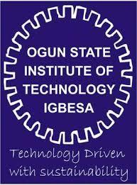 Ogun State Institute of Technology Cut off Mark