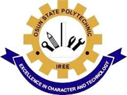 Osun State Polytechnic Cut off Mark