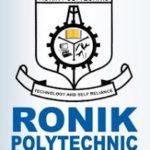 Ronik Polytechnic Admission Letter
