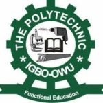 The Polytechnic Igbo-Owu admission list