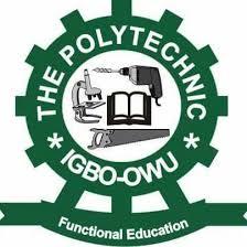 The Polytechnic Igbo-Owu Cut off Mark