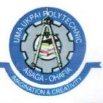 Uma Ukpai Polytechnic admission list