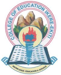 College of Education Ikere-Ekiti Admission List