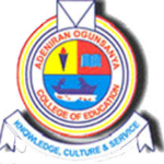 Adeniran Ogunsanya College of Education Admission List