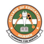 Edo State College of Education Admission List