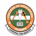 Edo State College of Education Admission List