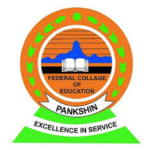 Federal College of Education Pankshin Admission List